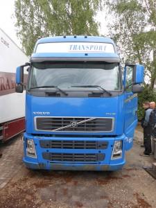 de vrachtwagen
